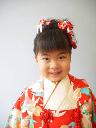 七五三の髪型日本髪七歳五歳三歳美容室 よっしーの畑 浦安