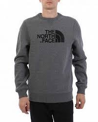 <b>Толстовка</b> мужская свитшот хлопок <b>The North Face</b> Drew Peak Grey