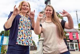Class leading form for sign language community