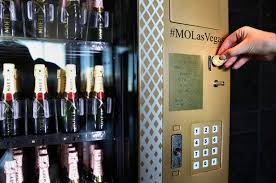 Moet Champagne Vending Machine Extraordinary Brandchannel Moët No Way The Champagne Vending Machine Is Real