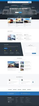 Web Designer Express Express Transports And Logistics Psd Template Psd