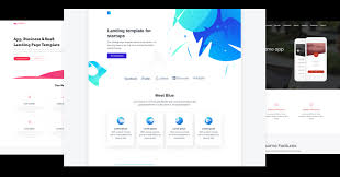 Free Web Application Design Templates 22 Best Free App Landing Page Templates You Need To See Now