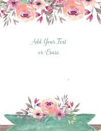 Small Picture Free flower border template