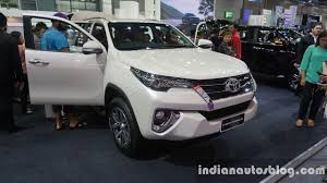 new car 2016 thailandIndiabound 2016 Toyota Fortuner  In Images Mega Gallery
