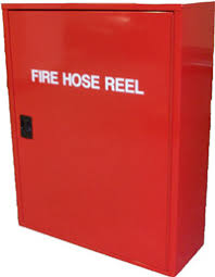 hh dd hydrant hose reel cabinet double door