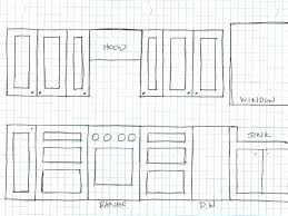 Cabinet Layout Template Cabinet Layout Kitchen Design Template S