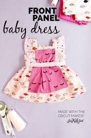 Baby Girl Dress Patterns Adorable Simplicity Baby Girl Dress Pattern With Cricut See Kate Sew