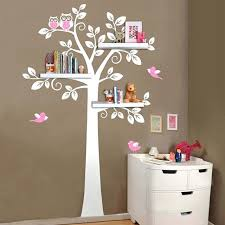 owl tree wall decal target also nursery wall art decals tree owl baby and mother wall sticker removable shelves for kids bedroom wall decals customizable