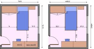 Kids Bedroom Layout Measurements, Bedroom Dimensions, Bedroom Measurements  | Ideas For The House .