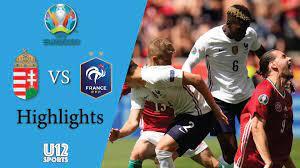 ไฮไลท์ฟุตบอลยูโร 2020 รอบแบ่งกลุ่ม ฮังการี พบ ฝรั่งเศส - ดูบอลสดออนไลน์ -  ผลบอล - ตารางบอล