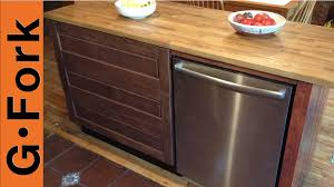diy ikea kitchen island gardenfork dishwasher diy soap dishwasher diy install