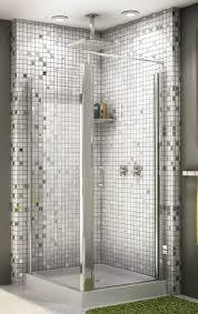 glass mosaic bathroom ideas. beauteous bathroom decoration using various tile shower wall design : beautiful picture of glass mosaic ideas d
