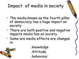 essay on impact of media on society  wwwgxartorg essay writing on media role in society essay topicsessay on negative role of media in society