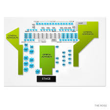 The Rose Seating Chart Pasadena Which Ones Pink Sat Feb 8 2020 The Rose