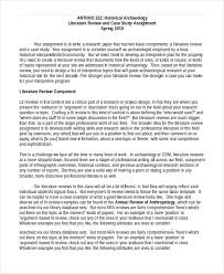 literature review template closely sample literature review 10 literature review examples premium templates