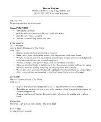Line Cook Resume Example Awesome Line Cook Resume Examples Funfpandroidco