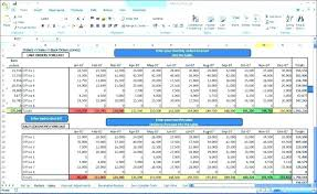 Balance Sheet Template Revenue Forecast In Excel Sales