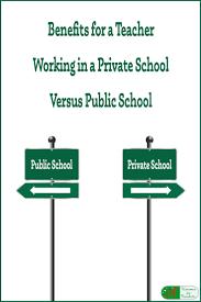 best private school jobs ideas mental health  benefits for a teacher working in a private school private school vs publicpublic