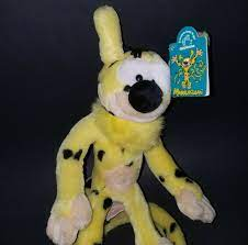 NEW Marsupilami Tail Springs Plush Applause Disney Stuffed Animal Toy  Yellow VTG