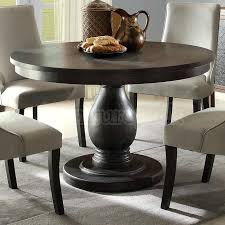 48 inch round table dining room extraordinary teak reclaimed wood dining table with round glass top