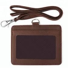 pu leather id card holder
