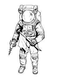 Small Picture Printable Astronaut Coloring Pages Coloring Me
