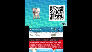 Pokémon Sun and Moon Complete Pokédex (ALL QR Codes & Shinies) - video  Dailymotion