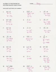practice worksheet solving radical equations kidz activities on how answers practice solve equations medium