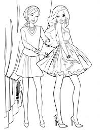 Nice Barbie Coloring Books Inspiring Design Ideas Fresh Of Girl