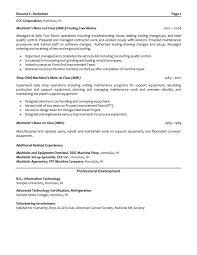 Certified Mechanical Engineer Sample Resume Haadyaooverbayresort Com