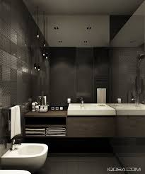 architecture bathroom toilet: design a chic modern space around a brick accent wall