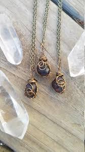 raw garnet necklace january birthstone necklace birthstone necklace garnet stone wire wrapped crystal