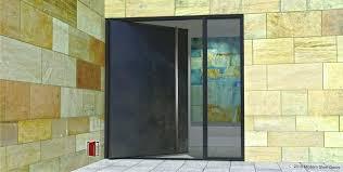 contemporary metal front doors modern metal front doors door with glass and custom pulls pivot entry