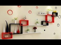 diy wall decoration ideas wall shelves for living room and bedroom 2020