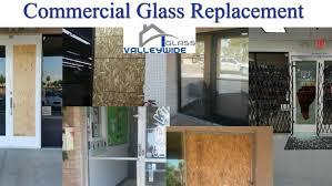 commercial glass door repair and window