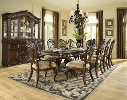 Pedestal Dining Table Set Samuel Lawrence Furniture Baronet Double Pedestal Dining Table In