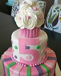 How To Make A Large Cupcake Birthday Cake