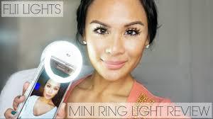FLII Lights Mini <b>Ring Light</b> Review | <b>Selfie</b>/<b>Video</b> Fill Light + Promo ...
