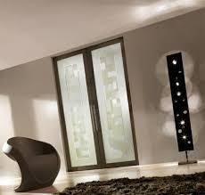 elegance brown interior doors made from glass modern aesthetic glass doors