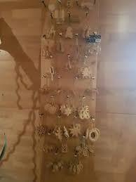 Holzschmuck Holzfiguren Christbaumschmuck Set 394