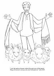 Small Picture Jesus The Good Shepherd Coloring Pages Free Downloads Coloring