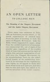 prelude naacp a century in the fight for dom exhibitions men the meaning of the niagara movement and the junior niagara movement 1909 pamphlet page 2 page 3 page 4 page 5 booker t washington papers
