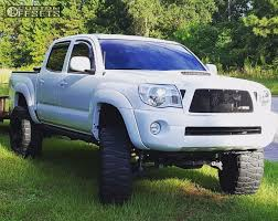 2010 Toyota Tacoma Mayhem Warrior Rough Country Suspension Lift 75in