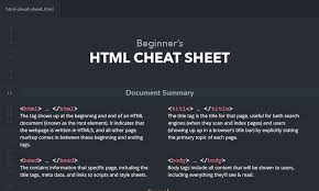 Html5 Cheat Sheet Best Html And Css Cheat Sheets Css Author