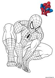 Coloriage Spiderman 3 En Reflexion Dessin