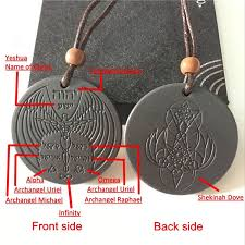 meanings of symbols on the front and back of the 7000 negative ion pendant scalar energy pendant meter displays
