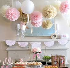 How To Make Fluffy Decoration Balls Custom 32pcs Wedding Series Tissue Paper Pom Poms Paper Lanterns Party
