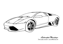Cars Coloring Page Lamborghini Murcielago 20 Coloring Pages