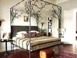 King Canopy Frame King Bed Frame Wooden King Canopy Bed Frame Wood ...