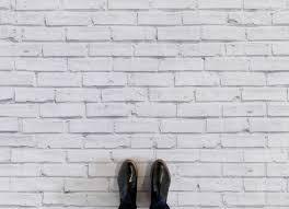 white brick effect flooring neutral feet vinyl flooring